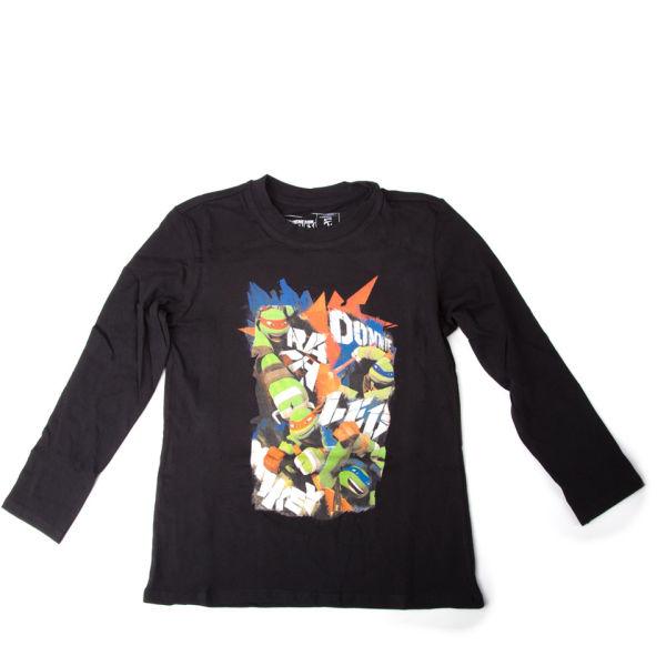 Teenage Mutant Ninja Turtles Kids 39 T Shirt Black