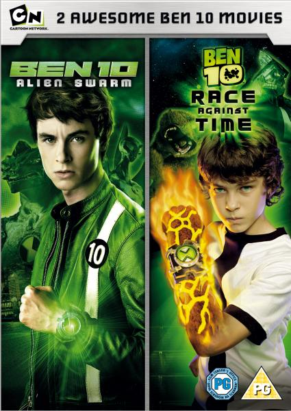 Ben 10 Alien Swarm Ben 10 Race Against Time Dvd Zavvi