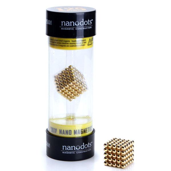 Nanodots Magnetic Constructors Gold 125 Dots Iwoot