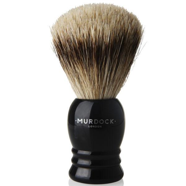 Murdock London Pure Badger Hair Brush (Ebony)