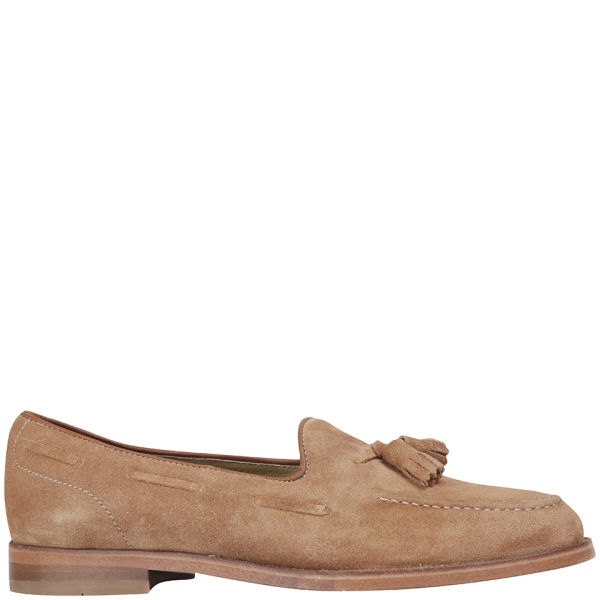 H Shoes by Hudson Women's Stanford Suede Loafers - Sand