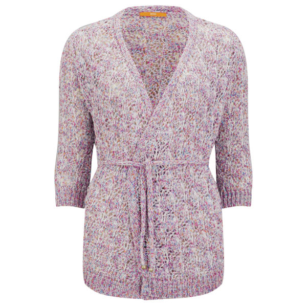 BOSS Orange Women's Idony Knit Cardigan - Light/Pastel Pink