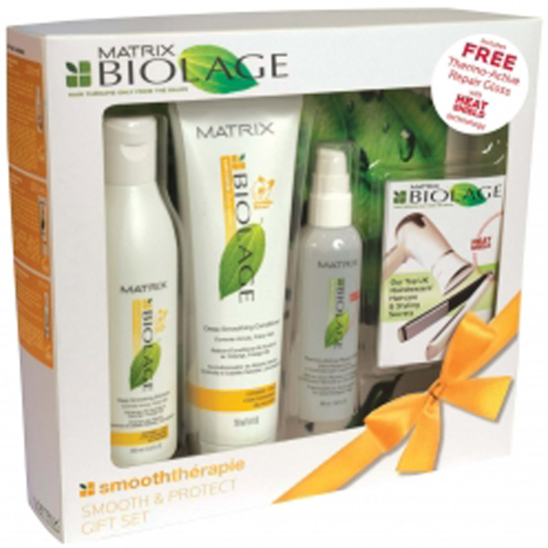 Matrix Biolage Smoothth 233 Rapie Gift Set 3 Products Free