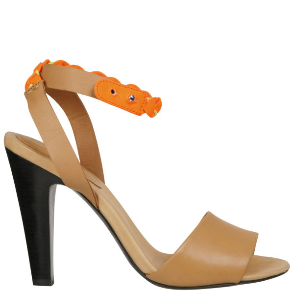 See by Chloe Women's Heeled Sandals - Fluro/Sand