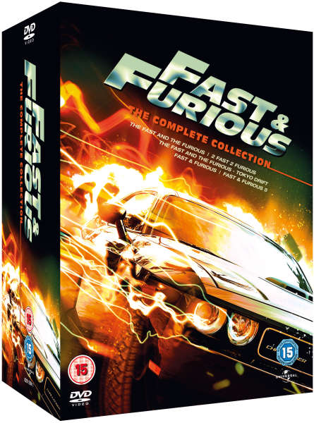 Fast And Furious 1 5 The Complete Collection Iwoot