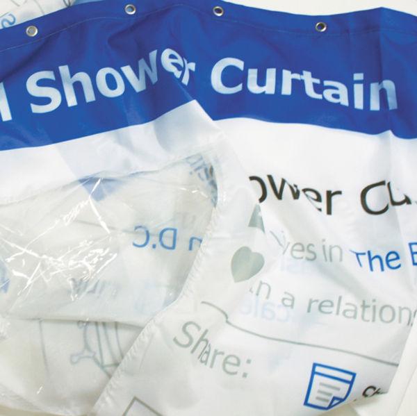 Lovely Social Media Shower Curtain: Image 3