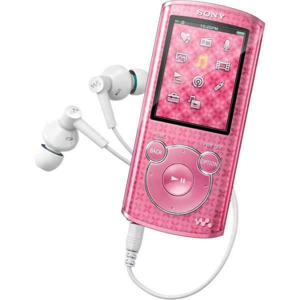 sony 8gb mp3 player pink electronics zavvi. Black Bedroom Furniture Sets. Home Design Ideas