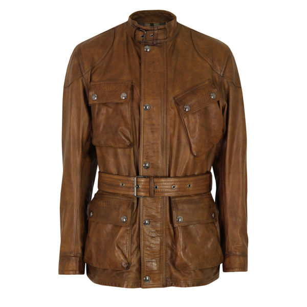 Belstaff Leather Motorcycle Trousers