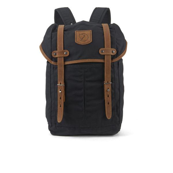 49688eb8ef36 Fjallraven Rucksack No.21 Small Backpack - Black  Image 1