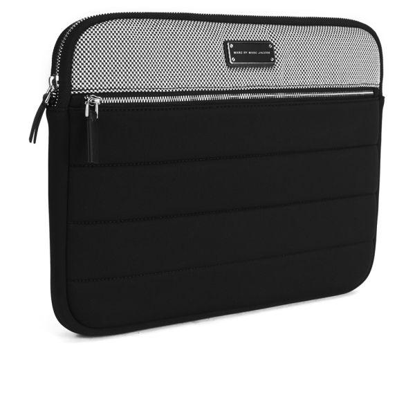 marc by marc jacobs bmx 13 inch laptop case black free uk delivery over 50. Black Bedroom Furniture Sets. Home Design Ideas