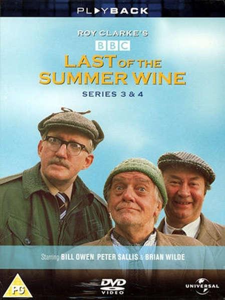 Last Of The Summer Wine Series 3 Amp 4 Dvd Zavvi