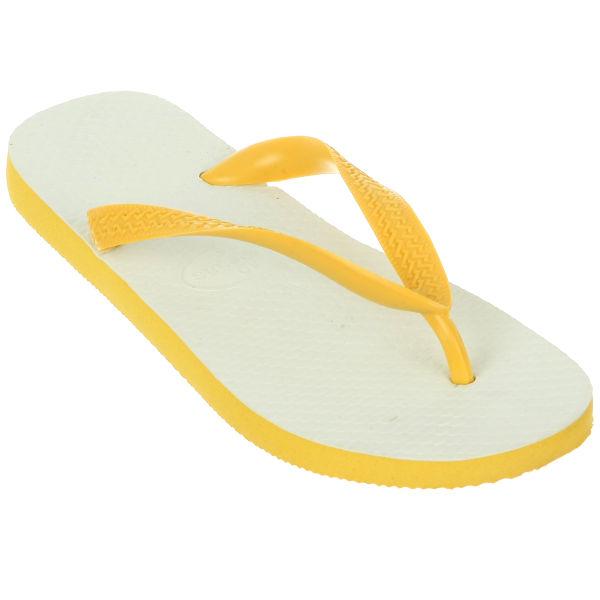 Havaianas Unisex Tradicional Flip Flops - Yellow