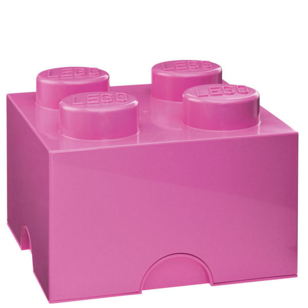 Attrayant LEGO Storage Brick 4   Pink