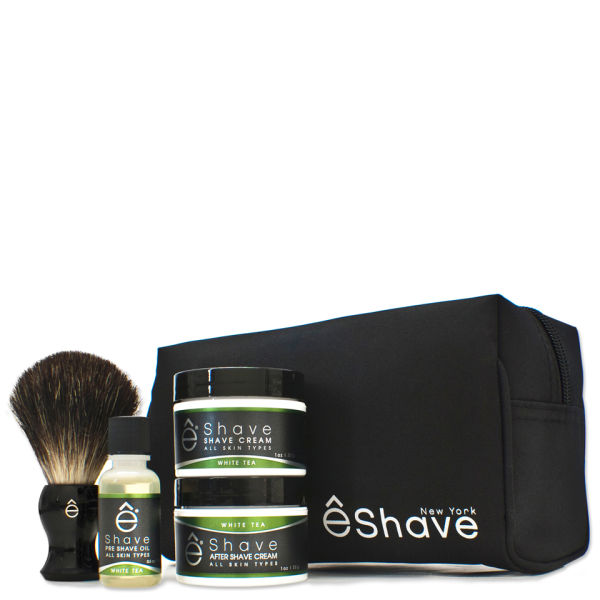 Start Up Kit eShave White Tea