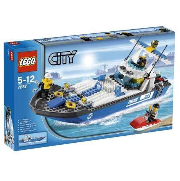 инструкция полицейская лодка лего сити