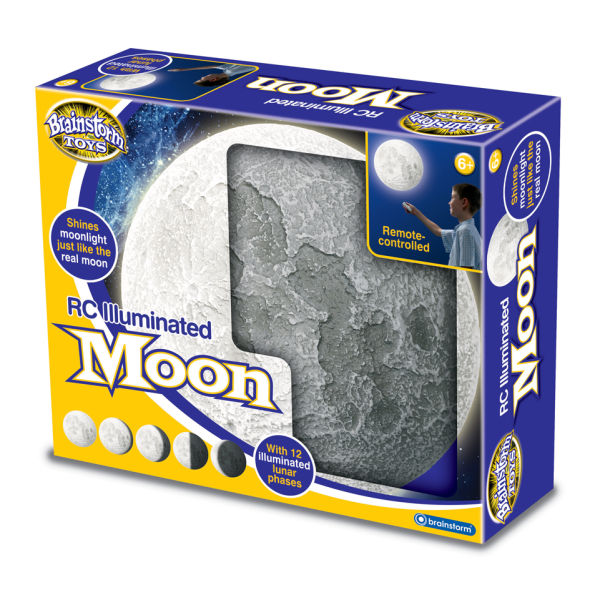 Remote Control Illuminated Moon Iwoot