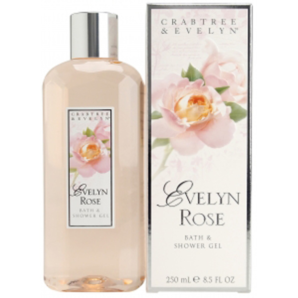 Crabtree evelyn evelyn rose bath shower gel 250ml - Rose 31 shower gel ...