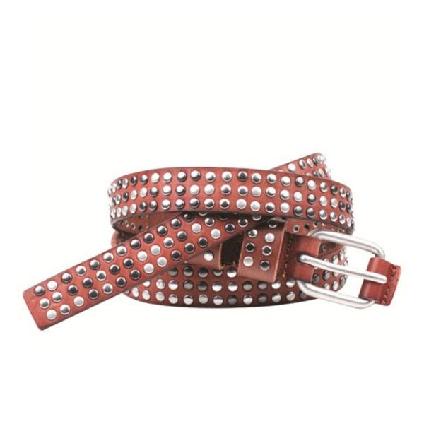 Markberg Mikela Leather Belt - Brown