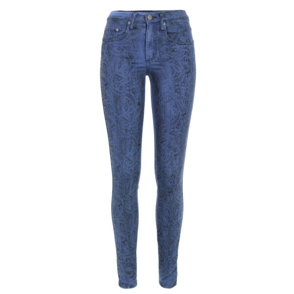 Nobody Women's Cult Angel Skinny Spray Jeans - Blue