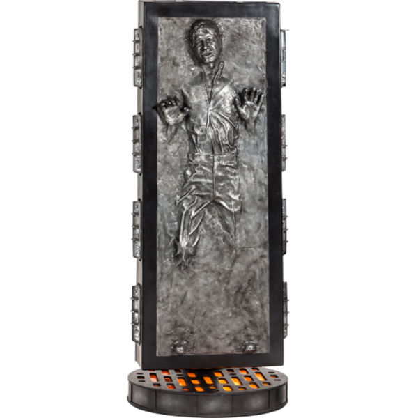 Sideshow Collectibles Star Wars Han Solo Carbonite Life Size ...