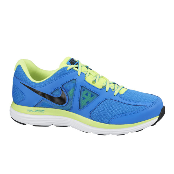 Dual Fusion Nike Shoes Blue And Green