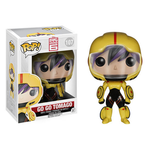 Disney Big Hero 6 Go Go Tomago Pop! Vinyl Figure