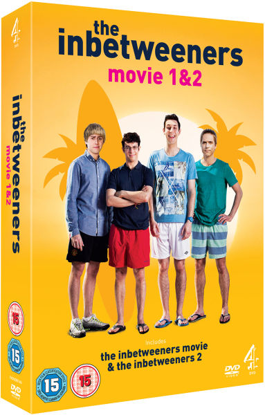 The Inbetweeners Movie 1 Amp 2 Box Set Dvd Zavvi