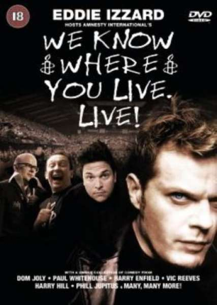 We Know Where You Live - Live