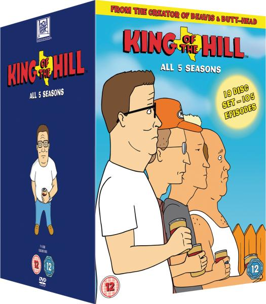 King Of The Hill Seasons 1-5 Box Set