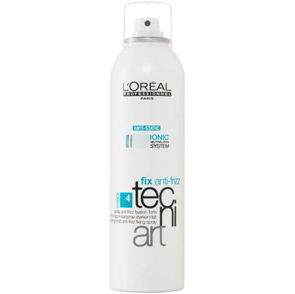 Zeer L'Oréal Professionnel Tecni ART Fix Anti-Frizz Spray (250ml &BJ74
