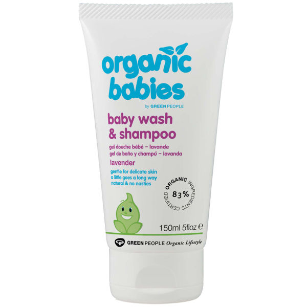 GREEN PEOPLE LAVENDER BABY WASH & SHAMPOO (150ML)