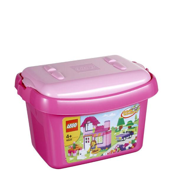 Lego Build And Rebuild Pink Brick Box 4625 Toys