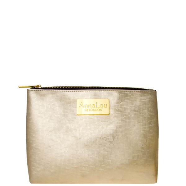 Anna Lou Of London Cosmetic Bag Gold