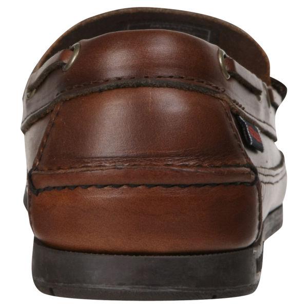 8e893e6318 Sebago Men s Sloop Moccasin Boat Shoes - Brown  Image 5