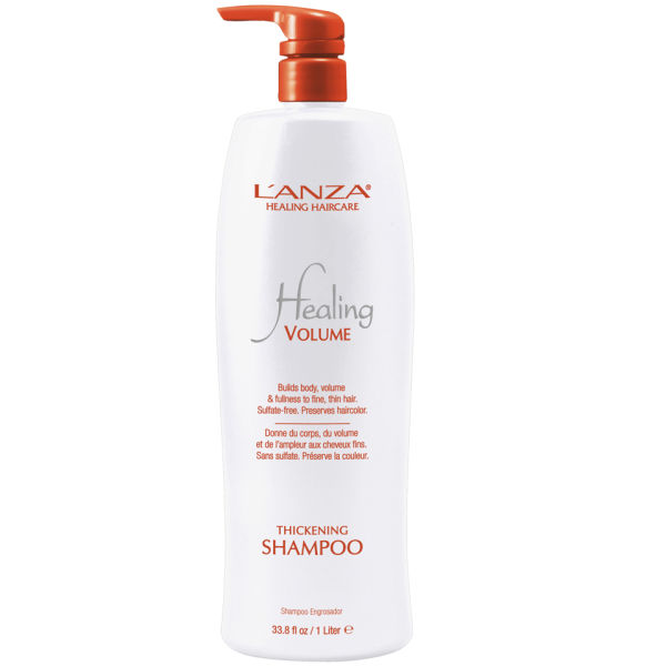 L'Anza Healing Volume Thickening Shampoo 1000ml (Worth £84.00)