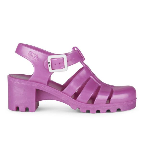 6088171e0280 JuJu Women s Babe Jelly Sandals - Pearl Pink Womens Footwear ...
