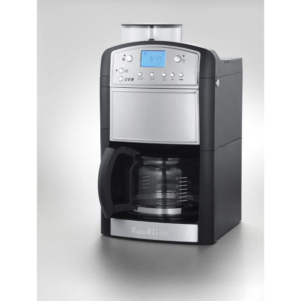 Russell Hobbs Bean To Cup Coffee Maker : Russell Hobbs Platinum Grind and Brew Coffee Maker IWOOT