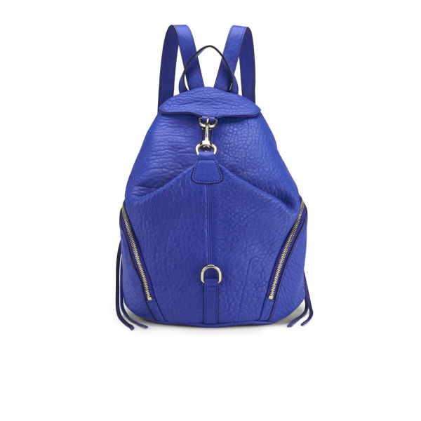 Rebecca Minkoff Women's Julian Leather Backpack - Bright Blue ...