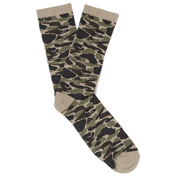 Carhartt Men's Cotton Mix Camouflage Gilbert Socks - Isle Jacquard: Image 1