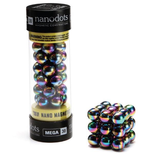 Mega Nanodots Magnetic Constructors Titanium Spectra 30
