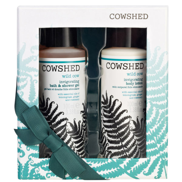 Cowshed Invigorating Wild Cow Duo Gift Set (2 Products)