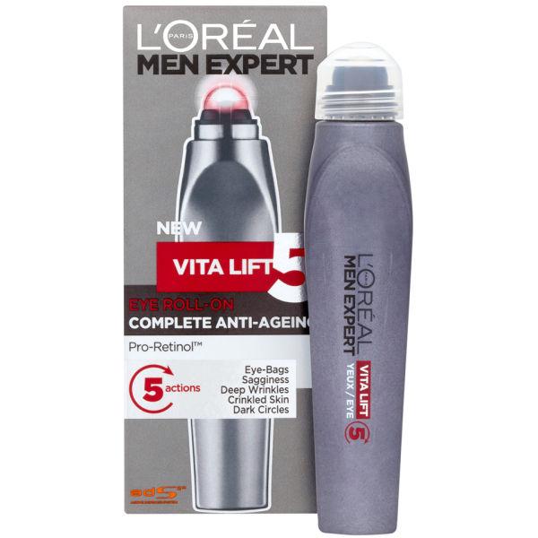 L'Oreal Paris Men Expert Vita Lift 5 Eye Roll-On (10ml ...
