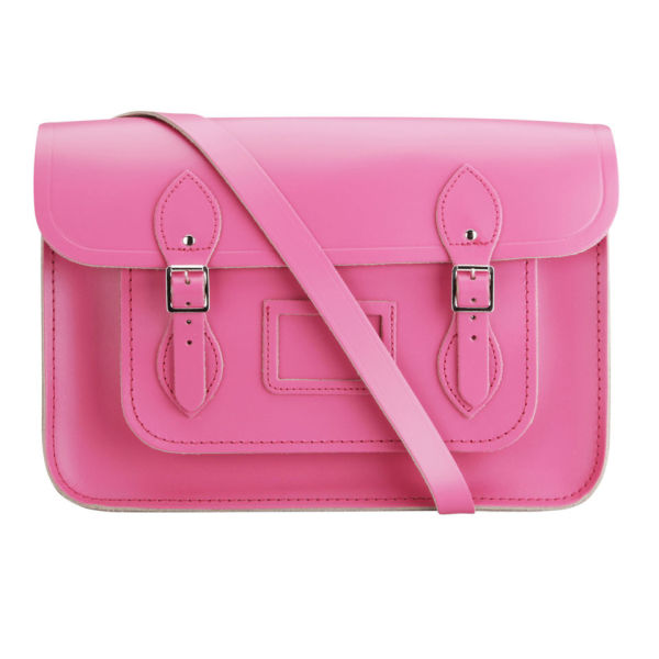 The Cambridge Satchel Company 14 Inch Classic Leather Satchel - Orchid