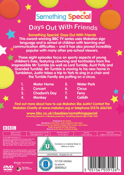 Something special days out with friends dvd zavvi - Something special ...
