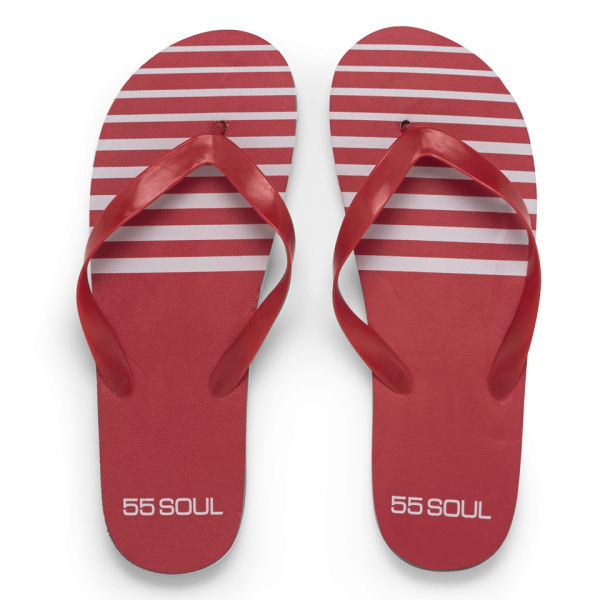 Tongs Homme 55 Soul - Rouge