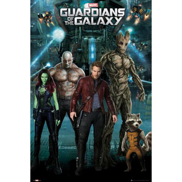 Guardians Of The Galaxy Group Maxi Poster 61 X 91 5cm