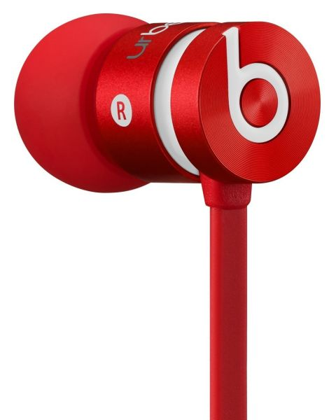 beats by dr dre urbeats earphones red electronics zavvi. Black Bedroom Furniture Sets. Home Design Ideas