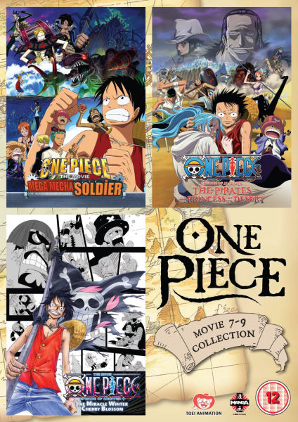 One Piece Movie Collection 3 (Contains Films 7-9)