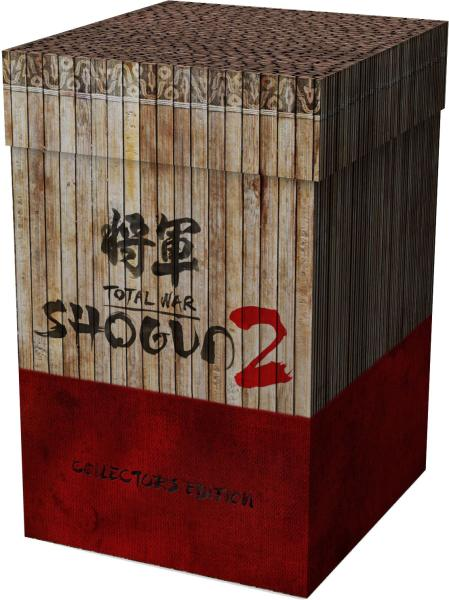 Total war shogun 2 video blowout and collector's edition.