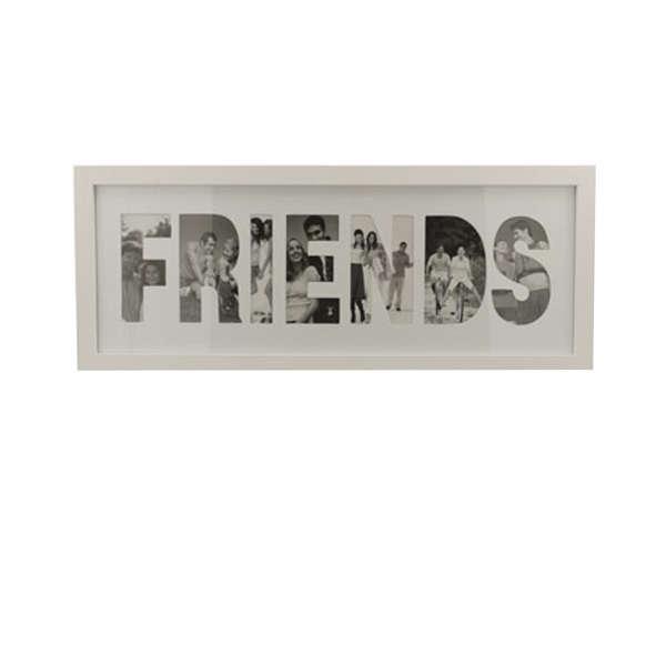 Friends Collage Frame - White Traditional Gifts | Zavvi Australia